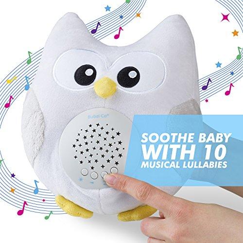 070db92480fe ... Bubzi Co Baby White Noise Sleep Aid Night Light & Shusher Sound Machine  & Baby Gift ...