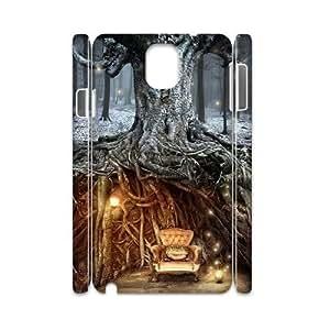 WJHSSB Diy case Fantasy Fairy Tale customized Hard Plastic case For samsung galaxy note 3 N9000