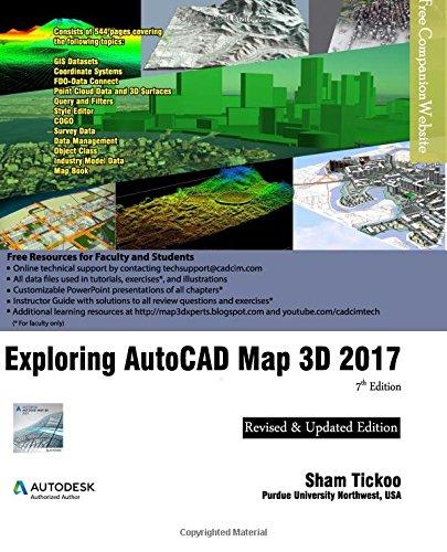 Download Exploring AutoCAD Map 3D 2017 ebook