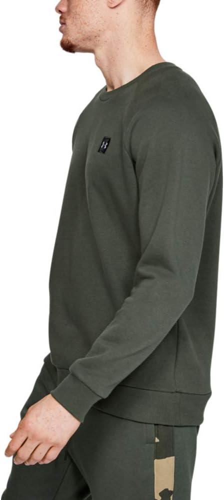 Homme Under Armour Rival Fleece Crew T-Shirt /à Manches Longues