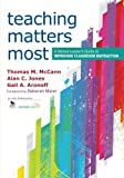 Teaching Matters Most: A School Leader's Guide to