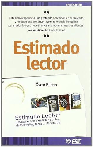 Amazon.com: Estimado Lector (9788473563918): BILBAO: Books