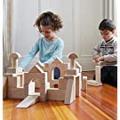 Guidecraft Unit Blocks Set E – 218 Piece Set: Kids Early Learning, STEM Building, Educational Toy