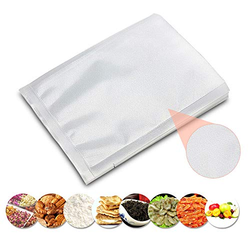 100pcs 6.70'×9.84′ Vacuum Sealer Bags for Food Saver Storage Sealer Bags Seal A Meal Sous Vide Cooking Dry Moist Modes