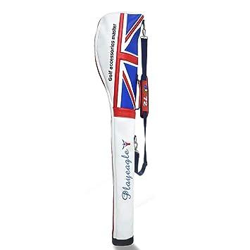 playeagle Protable piel sintética bandera Golf bolsa Golf ...