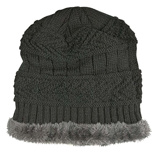 Winter Beanie Scarf for Boys Girls (5-12 Years) Hats Circle Scarf Kids Slouchy Skull Cap