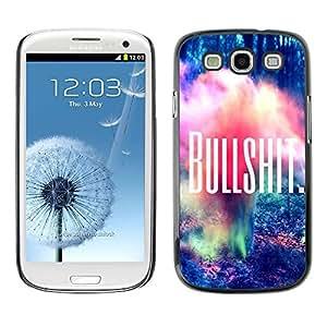 Dragon Case - FOR Samsung Galaxy S3 - fallin love with your smile - Caja protectora de pl??stico duro de la cubierta Dise?¡Ào Slim Fit