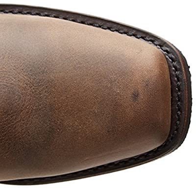 Frye Women's Harness 12R Boot, Tan, 6 | Mid-Calf