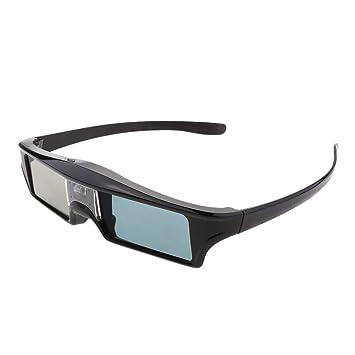 MagiDeal Bluetooth 3D DLP Link Gafas Recargable 144hz de Obturador ...