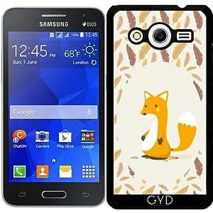 Funda para Samsung Galaxy Core 2 SM-G355 - Zorro by Asmo