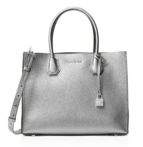 Michael Kors Pewter Handbag - 4