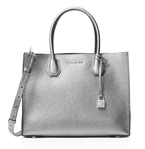 Michael Kors Pewter Handbag - 3