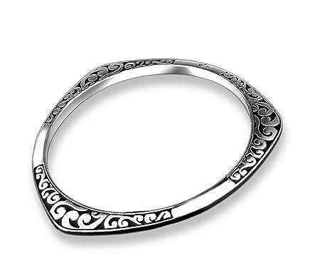 cbb85298c5db5b Hosaire 1X Fashion Elegant Women Girls Jewelry Crystal Thai Silver Bracelet  Hand Chain For Holiday Gifts: Amazon.co.uk: DIY & Tools