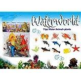 Vibgyor Vibes Ocean/Water/Marine Animals Figures Set for Kids