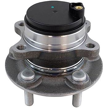 amazoncom rear wheel bearing hub assembly lh rh pair  ford fusion lincoln mkz automotive