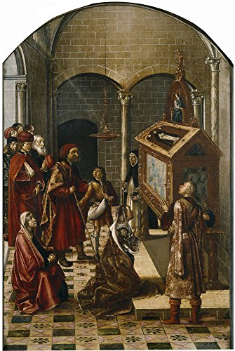 Oil Painting 'Berruguete Pedro Sepulcro De San Pedro Martir 1493 99' 8 x 12 inch / 20 x 30 cm , on High Definition HD canvas prints is for Gifts And Bath Room, Garage And Hallway Decoration