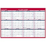 AT-A-GLANCE Wall Calendar 2017, Erasable, Reversible, Vertical/Horizontal, 12 Months, 48 x 32'' (PM326-28)