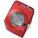 AQUA(アクア) AQUA(アクア) 全自動洗濯機 (洗濯8.0kg)「SLASH(スラッシュ)」 AQW-LV800E-R シャイニーレッド