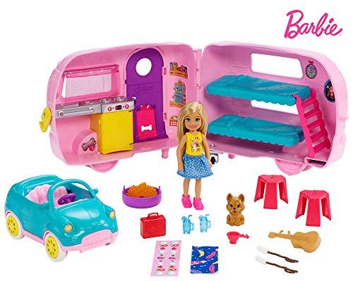 Barbie Club Chelsea Camper (Doll Club Barbie)