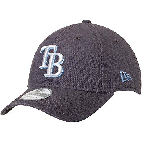 Tampa Bay Rays New Era Core Classic 9TWENTY Adjustable Hat Graphite - Cap Tampa Bay Baseball