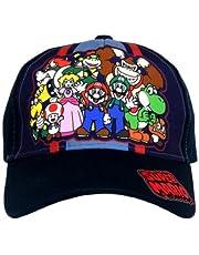 Super Mario Boys Baseball Cap Hat