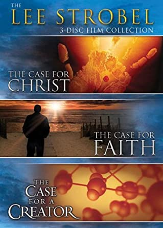 amazon com the lee strobel 3 disc film collection the case for