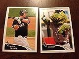 2012 Topps Sticker w Logo Card Chicago White Sox Team Set 10 Stickers Mint