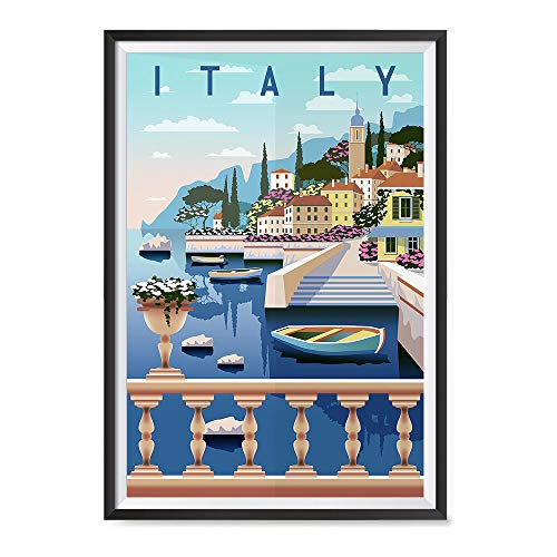 EzPosterPrints - Retro World Famous City Posters