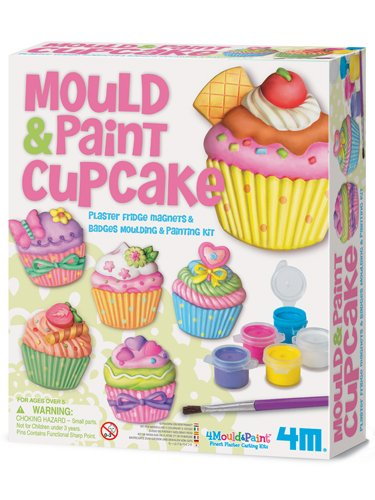 Mold Paint Cupcake Plaster Fridge