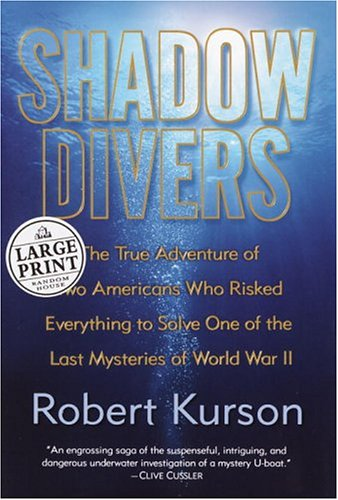 Shadow Divers: The True Adventure of Two Americans Who Risked Everything to Solve One of the Last Mysteries of World War II (Random House Large Print) - State Shadow Print Jersey