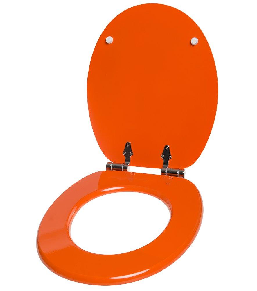 Finition de haute qualit/é Abattant WC frein de chute soft close Grande s/élection Fixation facile Douche Chats