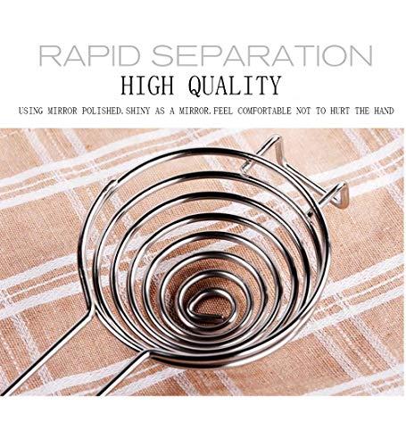 Egg Separator-White Yolk Filter Food Grade Stainless Steel Egg Filter…