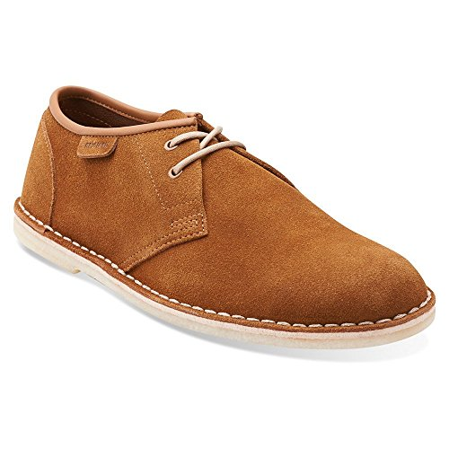 Clarks Mens Jink Oxford Shoe Cola Suede sPIYODED9