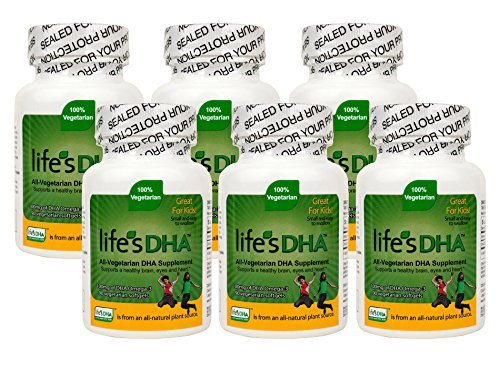 Martek Life's DHA 100mg All-Vegetarian DHA Supplement - 90 Softgels (6 Pack)