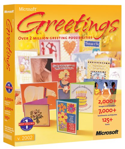 Amazon microsoft greetings 2002 old version microsoft greetings 2002 old version m4hsunfo