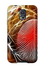 Tpu MichaelTH Shockproof Scratcheproof Abstract Fractalius Hard Case Cover For Galaxy S5