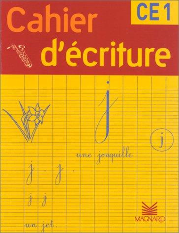 Cahier d'écriture CE1