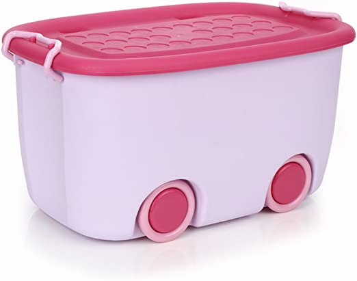 Niños de moda medio grande caja de almacenamiento de juguete caja ...