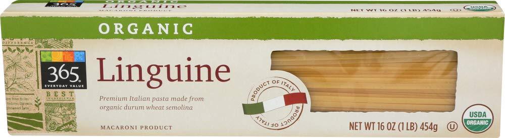 365 Everyday Value, Organic Linguine, 16 oz
