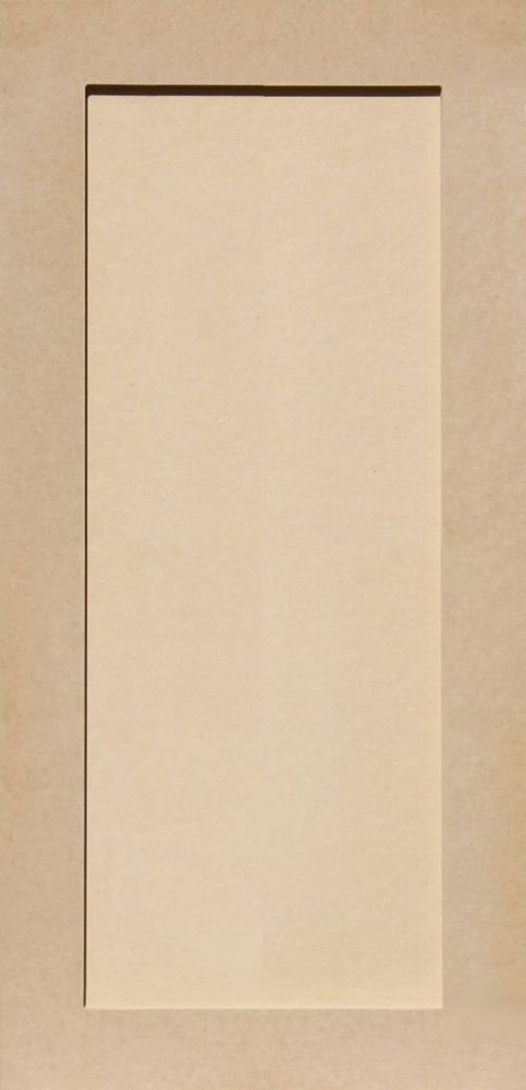 29H x 14W Unfinished Shaker Cabinet Doors in MDF by Kendor