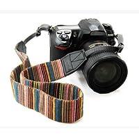 KWOW Camera Strap Bohemia Shoulder Neck Universal Camcorder Belt Strap for All DSLR Camera Nikon Canon Sony Olympus Samsung Pentax Fujifilm Colorful