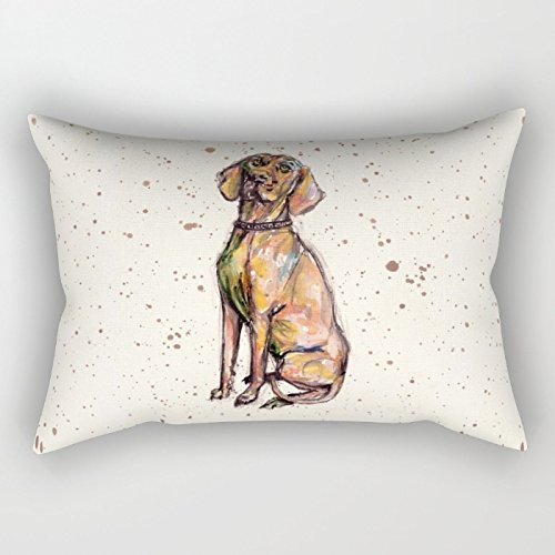Uloveme Pillow Cases Of Dogs 12 X 20 Inches / 30 By 50 Cm Best Fit For Living Room Kitchen Home Festival Girls Floor Each Side