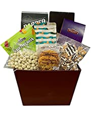 Delicious Summer Gift Basket of Gourmet Treats and Sweet Goodies