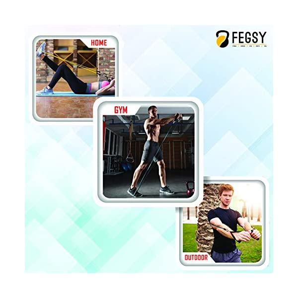 FEGSY-Resistance-Tube-Exercise-Bands-for-Stretching-Workout-and-Toning-for-Men-and-Women-Multicolor
