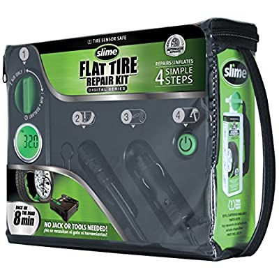 Slime 50123 Flat Tire Repair Kit (Digital): Automotive