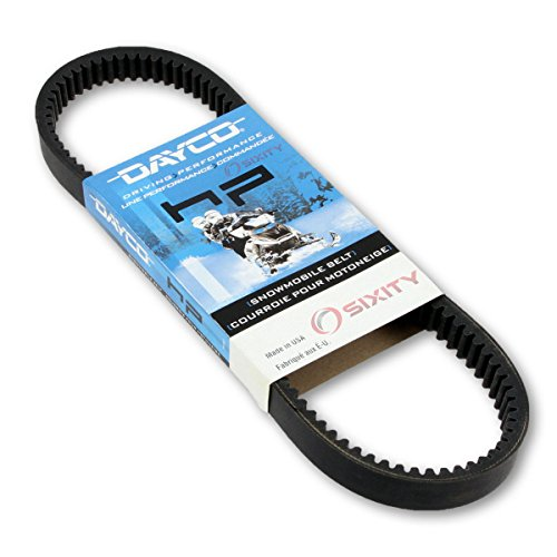 - 1976-1980 Arctic Cat Jag 3000 F/A Drive Belt Dayco HP Snowmobile OEM Upgrade Replacement Transmission Belts