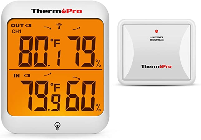 Thermometer Indoor Outdoor Multiple Colors Weather Resistant Fahrenheit Celsius