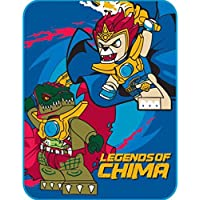 LEGO Plush Throw Blanket 'Legends of Chima' - 46 in. x 60...