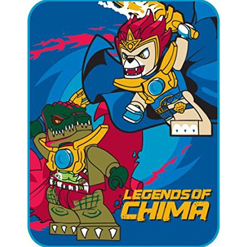 Lego Legends of Chima Plush Throw Blanket - 46 in. x 60 in.