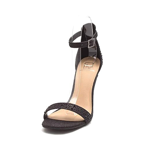 79a836a7f1c271 Material Girl Womens Blaire4 Open Toe Casual Ankle Strap Sandals  Amazon.ca   Shoes   Handbags